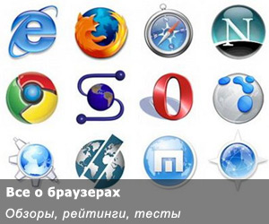 Рейтинг интернет браузеров на 2014 год (картинка, фото)