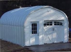 Пример западного гаража