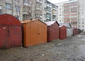Пример российского гаража