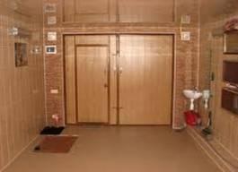 Оборудованный гараж изнутри