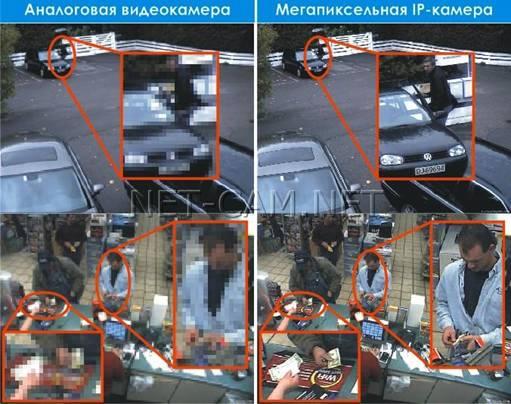 Сравнение качества картинки цифровой и аналоговой камеры - вид 1