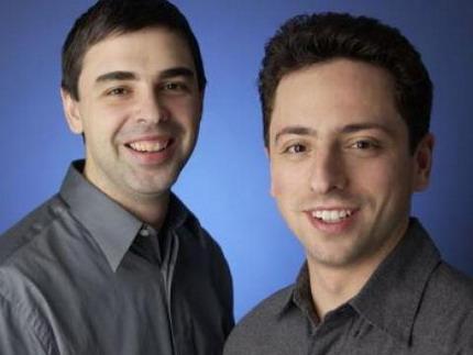 Основатели поисковой системы Google, Лоуренс Эдвард Пейдж и Сергей Брин