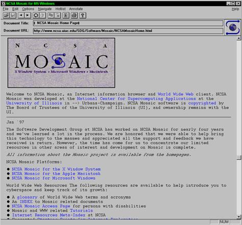 первый браузер в мире